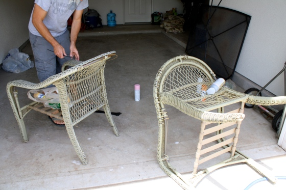 Refinished furniture and other items cca squared for Where to throw away furniture